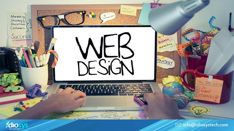trendy business website design