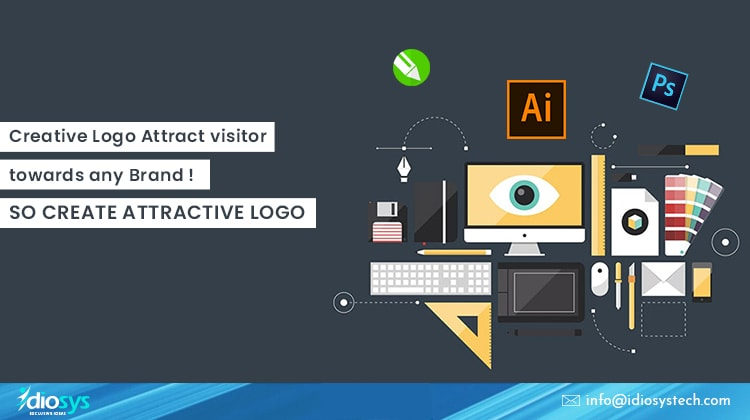 Creative Logo Attract visitor towards any Brand